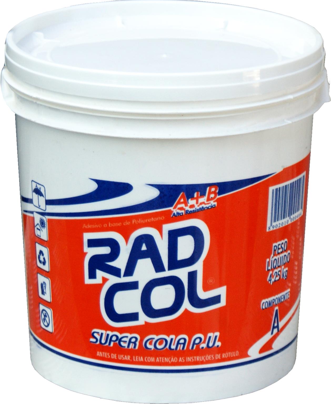 Pronto Piso: Cola PU Radcol 606 SV EMBALAGEM 5Kg preço por Kilo #C22409 1258x1534